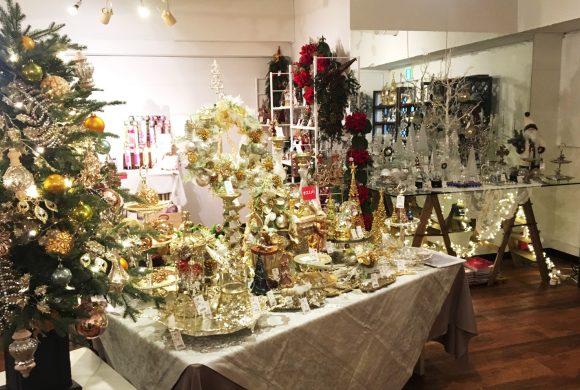 いよいよ明日開催 【クリスマス展】展示会最新情報!