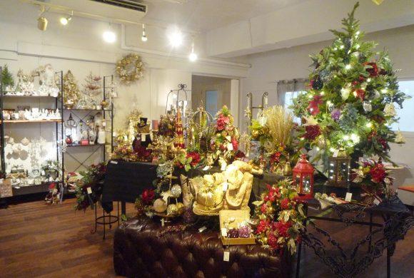 【ご来場御礼】クリスマス展示会終了しました。